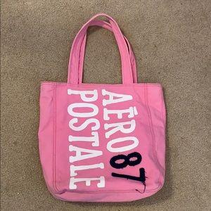 Pink Aeropostale bag